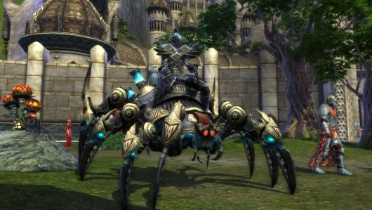 Your spider-machine mount will still be pimpin' after the merge.