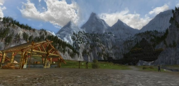 A wounded land The sights of LotRO Helm's Deep