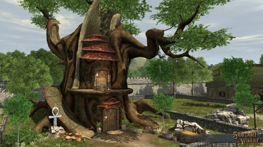 You'll want to own Shroud of the Avatar's Druid town home