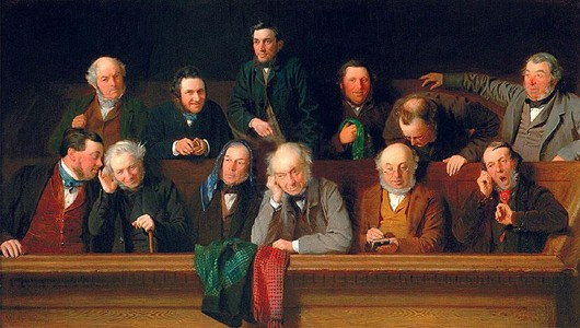 A jury of old white guys