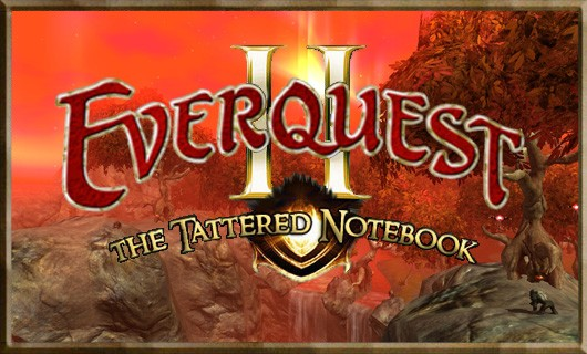 The Tattered Notebook  Dishing out memories for EverQuest II's ninth birthday