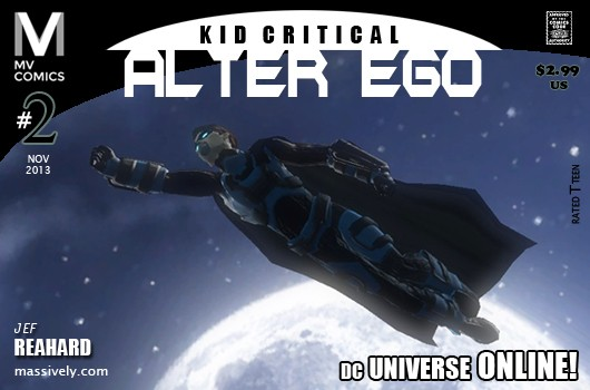 Alter Ego Issue #2  Learning to fly in DC Universe Online