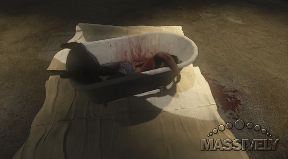 It's never good to wake up in a tub in TSW, but even worse to not wake up.
