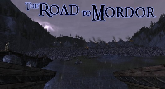 The Road to Mordor On the cusp of Helm's Deep