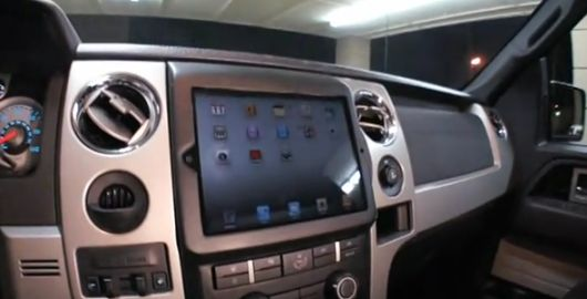 Ipad 2 Already Installed In Ford F