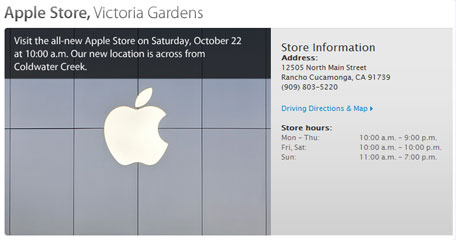 Expanded California Apple Store To Open Saturday