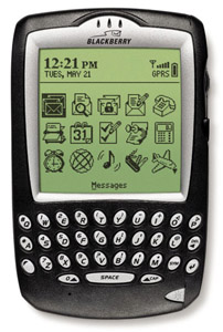 Blackberry 6820