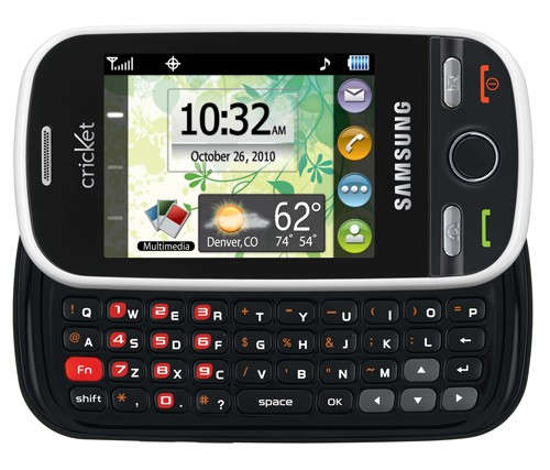 Cricket touch screen phones