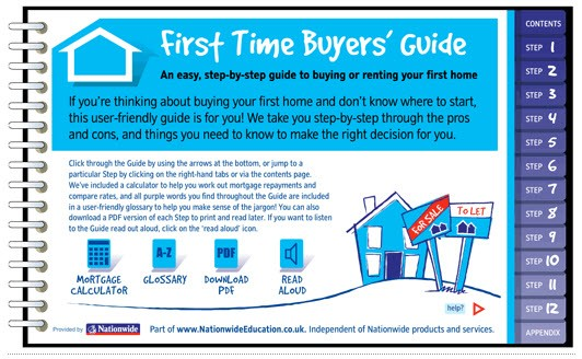Nationwide First Time Buyers' Guide