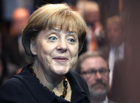 4 Angela Merkel, German chancellor