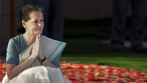 11 Sonia Gandhi, president of the Indian National Congress