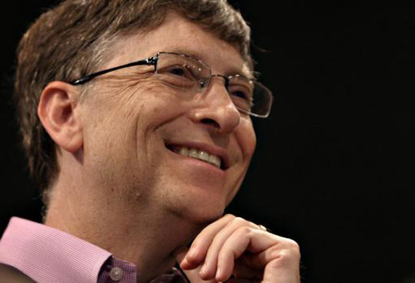 5 Bill Gates, co-chair of the world's largest charity, chairman of Microsoft, and America's richest man