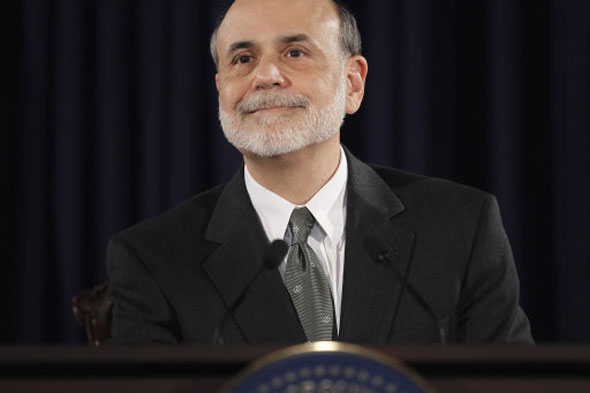 8 Ben Bernanke, Chairman of the Federal Reserve