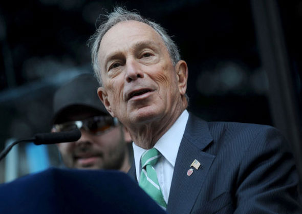 17 Michael Bloomberg, Mayor of New York and owner of Bloomberg media
