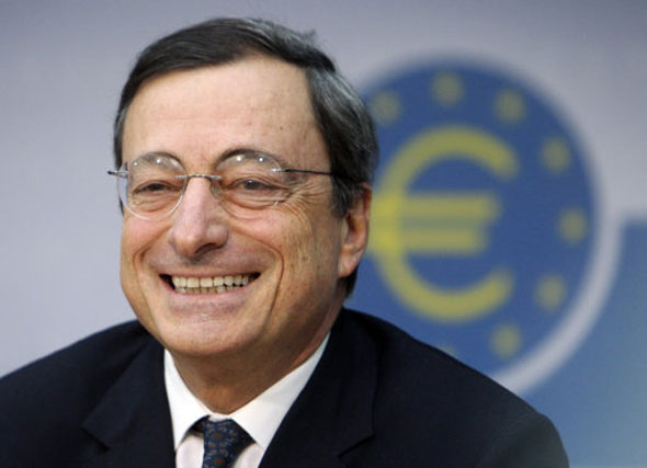 12 Mario Draghi, head of the European Central Bank