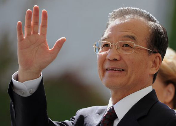 14 Wen Jiabao, Premier of the People's Republic of China