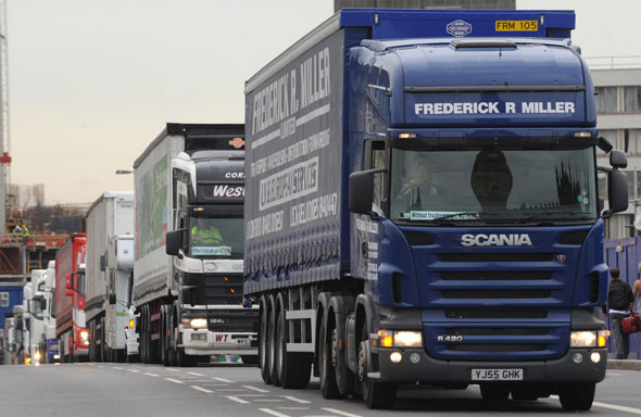 5. Lorry and commercial drivers