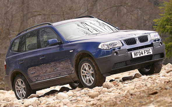 SUV: BMW X3 2.0d SE
