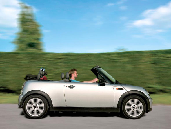 Convertible: Mini One Convertible 1.6