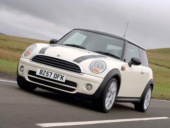 8. Mini Cooper TD at 19%