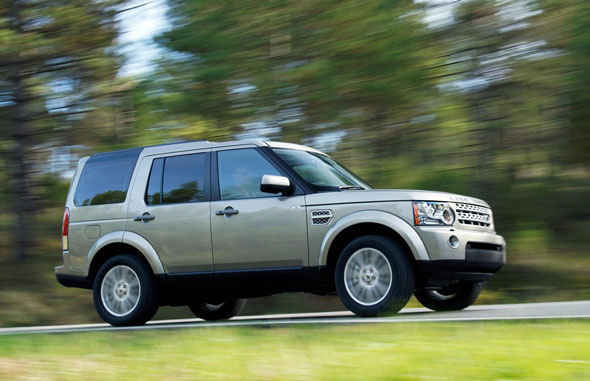 1. Land Rover Discovery HSE V6 TD at 26%