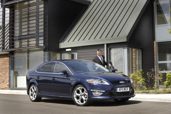 5. Ford Mondeo Titanium X TDCI (140) at 19%
