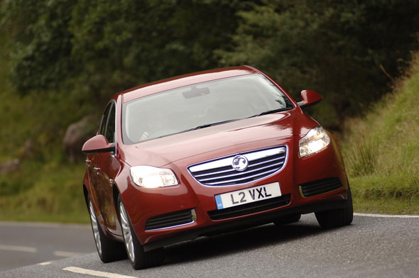 6. Vauxhall Insignia SRI CDTI (158) at 19%