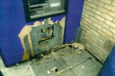 Cashpoint raid attempt in Ashford