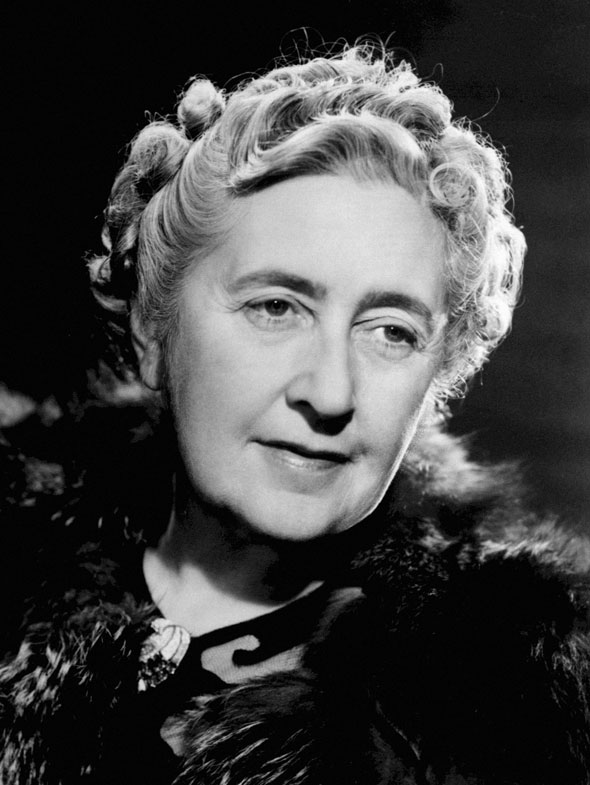 6. Agatha Christie
