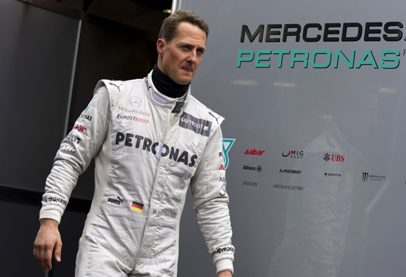 9. Michael Schumacher
