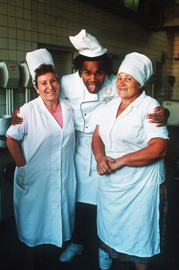 1. Dinner ladies
