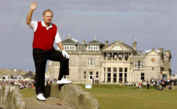 4. Jack Nicklaus - On course: $155,000 Off course: $28,800,000 Total: $28,955,000