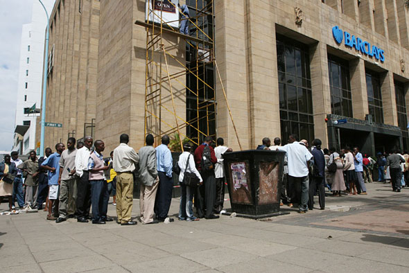 9. Long queues in branches