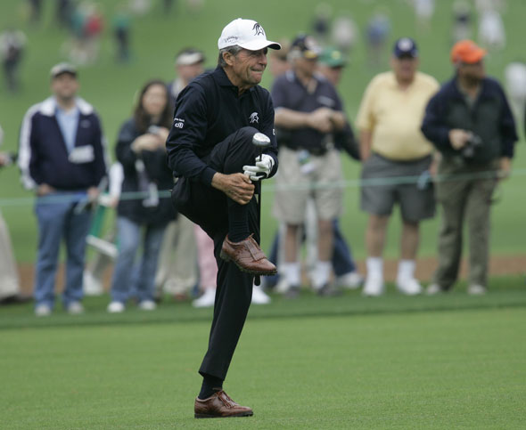 8. Gary Player - On course: $14,486 Off course: $16,000,000 Total: $16,014,486
