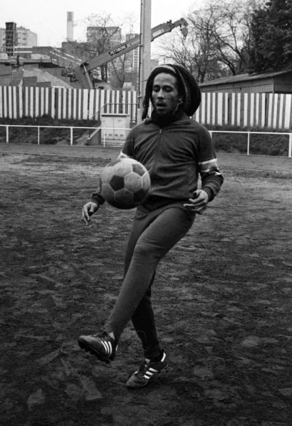 8. Bob Marley