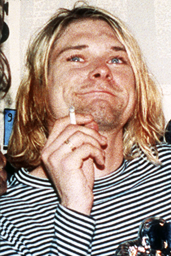5. Kurt Cobain