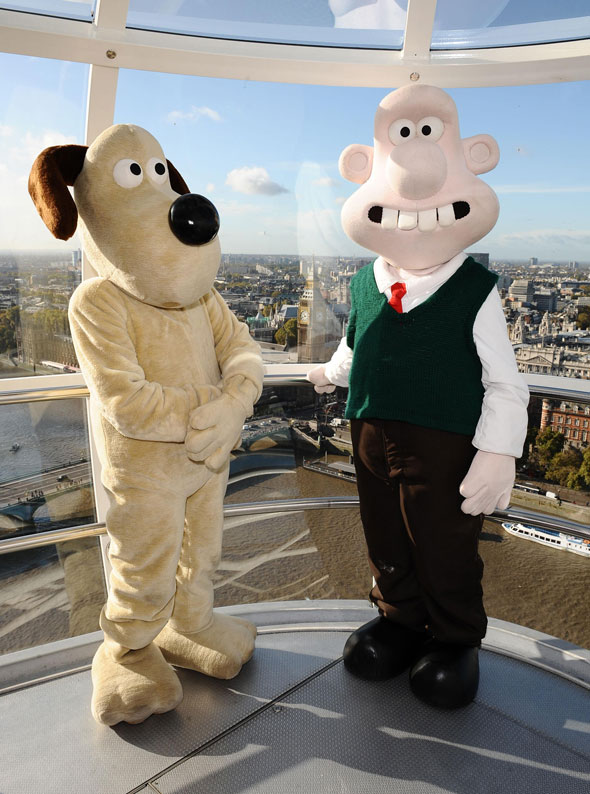 Winner: Wallace and Gromit