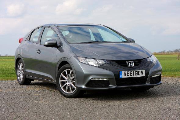 Medium Hatchback = Honda Civic Hatchback 1.4 i-VTEC SE 5dr