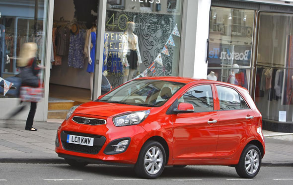 City Car Winner = Kia Picanto 1.0 1 5dr