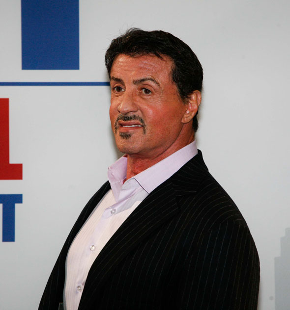 3. Sylvester Stallone's pudding