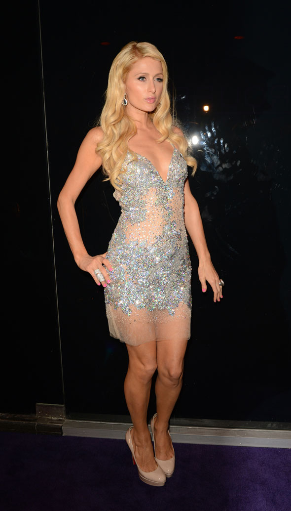 4. Paris Hilton's craft supplies
