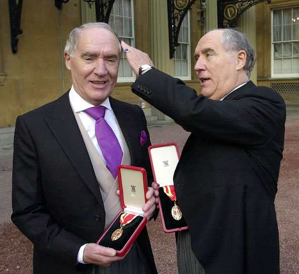 Sir David and Sir Frederick Barclay