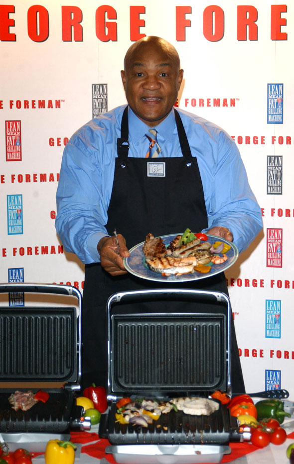 7. George Foreman's Lean Mean Fat-Reducing Grilling Machine