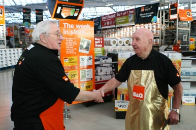 older employees at B&Q