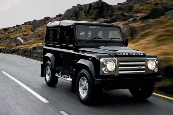 6. Land Rover Defender