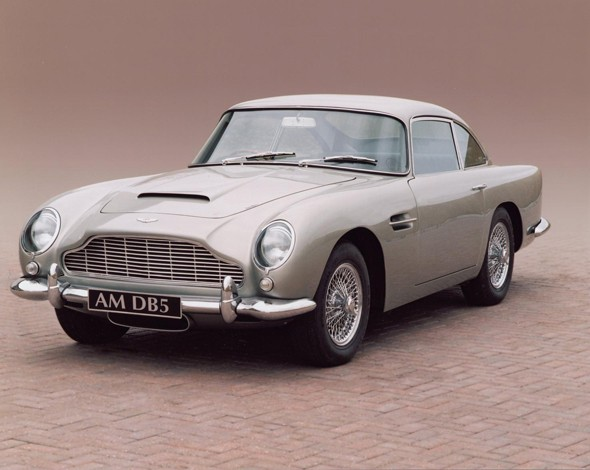 3. Aston martin DB5
