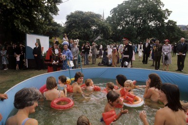 Paddling pool during Silver Julibee