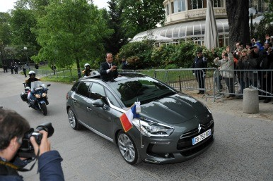 Paris Presidential parade