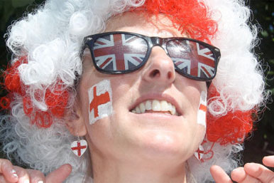  England fan