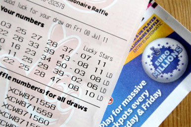 of the EuroMillions jackpot, a National Lottery spokeswoman said